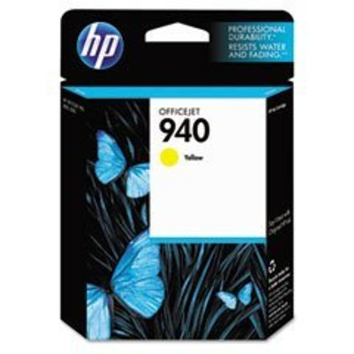 HP 940 Yellow Original Ink Cartridge For HP Officejet Pro 8000, 8500: Office Products