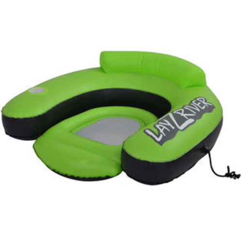 Blue Wave Lay-Z-River Inflatable Lounge River Float