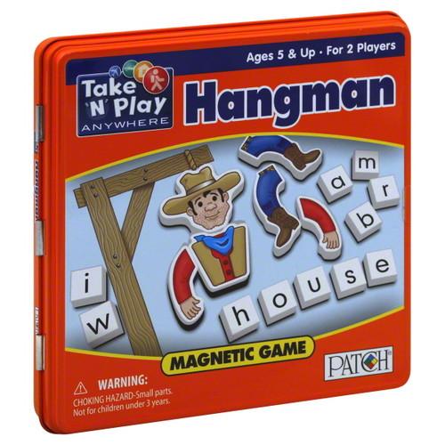 PlayMonster Take 'N' Play Anywhere Hangman - Travel Game