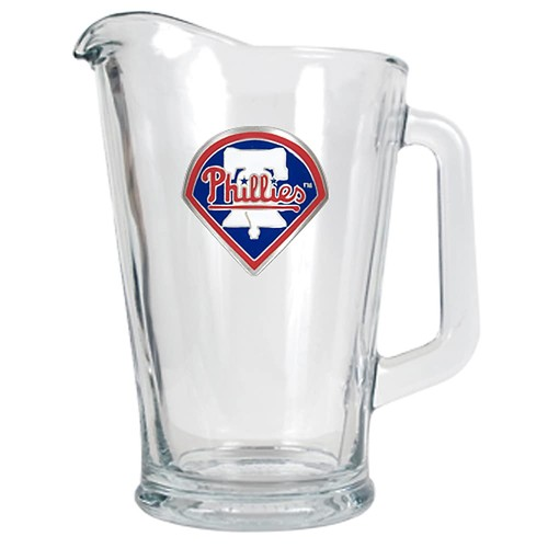 Philadelphia Phillies Glass Pitcher