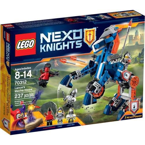 LEGO NEXO KNIGHTS Lanceu0026#8217;s Mecha Horse #70312