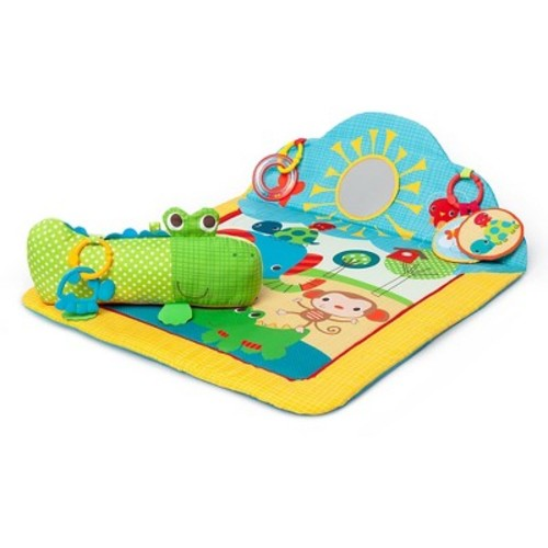 Bright Starts Cuddly Crocodile Play Mat