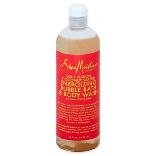 SheaMoisture Fruit Fusion Coconut Water 16 fl. oz. Energizing Bubble Bath & Body Wash
