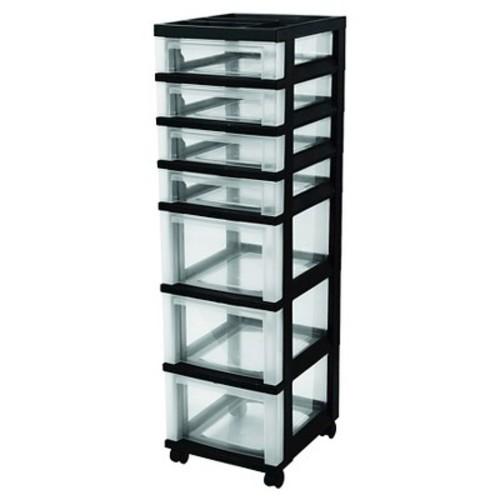 IRIS 7 Drawer Rolling Storage Cart