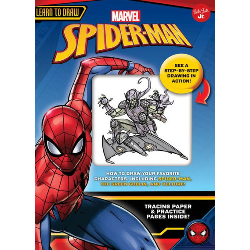 Learn to Draw Marvel's Spider-Man: How to draw your favorite characters, including Spider-Man, the Green Goblin, and Vulture!