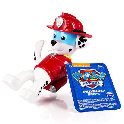 Paw Patrol - Bath Paddlin Pup - Marshall
