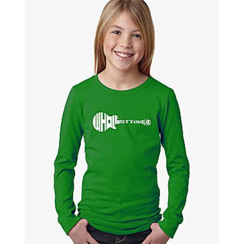 Los Angeles Pop Art Whole Lotta Love Long Sleeve Graphic T-Shirt Girls - JCPenney