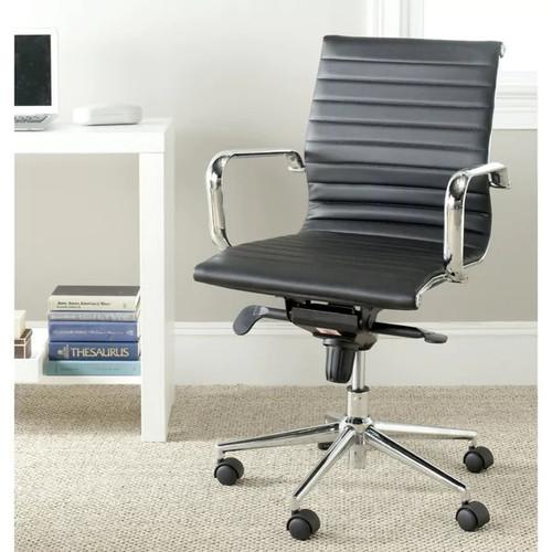 Safavieh Loreley Black Desk Chair