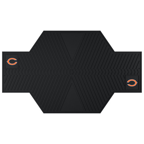 FANMATS NFL - Chicago Bears Motorcycle Utility Mat