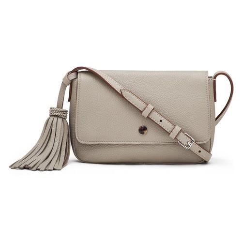 ELIZABETH AND JAMES Micro Cynnie Leather Crossbody Bag
