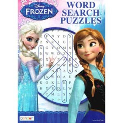 Disney Frozen World Search Puzzles