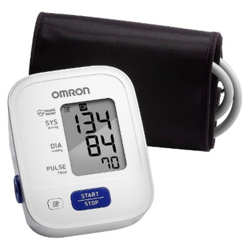 Omron 3 Series Upper Arm Blood Pressure Monitor with Cuff that fits Standard and Large Arms (BP710N)