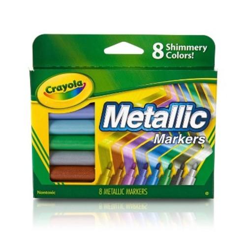 Crayola Metallic Markers 8ct