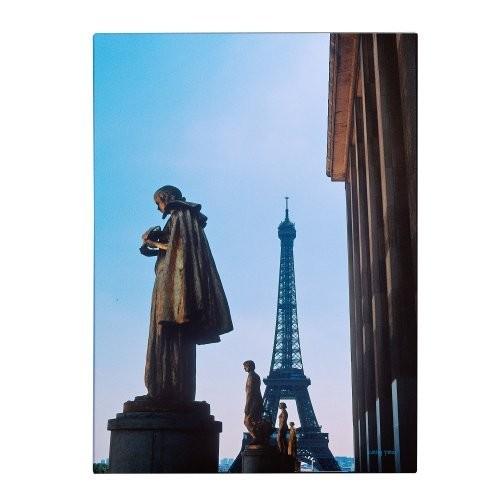 View of Eiffel from Trocadero by Kathy Yates, 30x47-Inch Canvas Wall Art