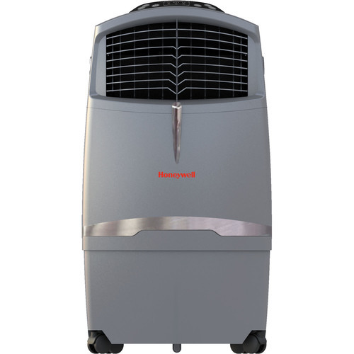 Honeywell CO30XE 525 CFM Indoor/Outdoor Evaporative Air Cooler (Swamp Cooler) with Remote Control in Gray