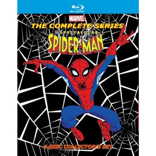 The Spectacular Spider-Man: The Complete Series [Blu-ray]: Spectacular Spider-Man: Movies & TV