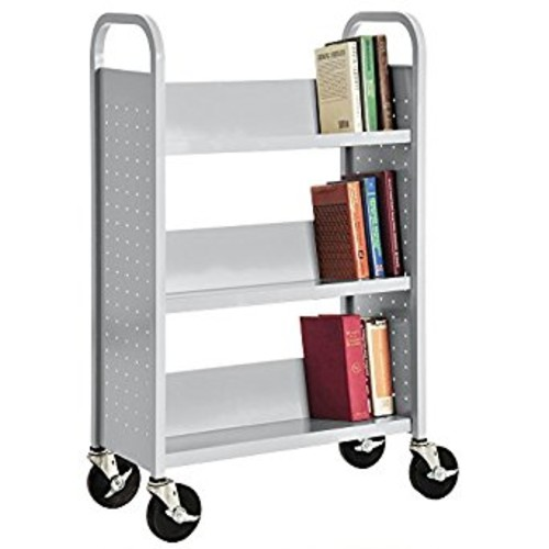 Sandusky Lee SL327-05 Single Sided Sloped Shelf Welded Bookcase, 14