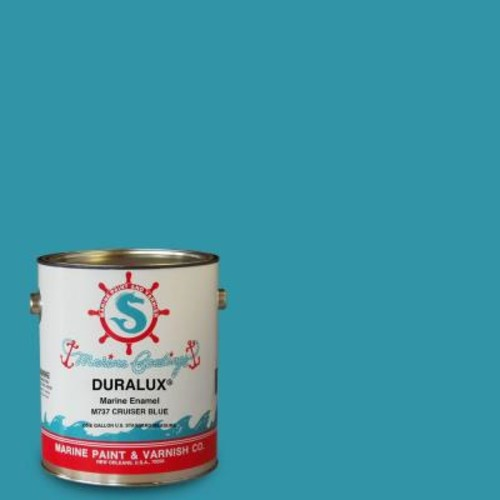 Duralux Marine Paint 1 gal. Cruiser Blue Marine Enamel