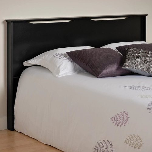 Prepac Coal Harbor Black Full/Queen Headboard