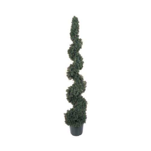 Nearly Natural 5' Cedar Topiary