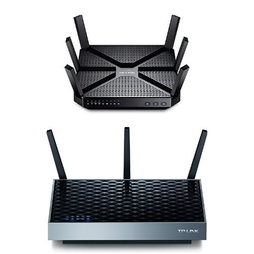 AC3200 Tri-Band Wireless Gigabit Wi-Fi Router and AC1900 Wi-Fi Dual-Band Range Extender [Router w/ Range Extender Bundle]