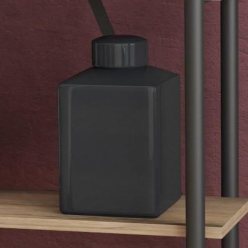 Darby Home Co Eudora Black Rectangular Vase