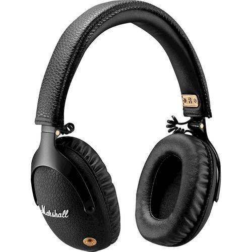 Marshall - MONITOR Bluetooth Wireless Over-the-Ear Headphones - Black