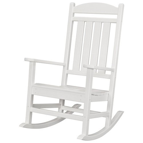 Hanover White All-Weather Pineapple Cay Patio Porch Rocker