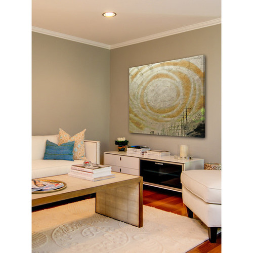 Marmont Hill Art Collective 'Spire' Canvas art [option : 40 x 40]