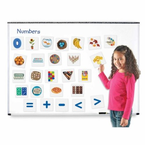 Learning Resources Double-Sided Magnetic Numbers