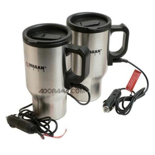Wagan 22271 Electronic Heated Travel Mug, 473ml 22271