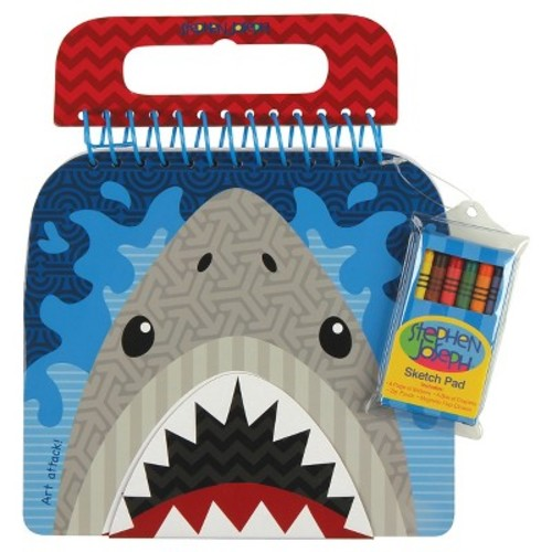 Stephen Joseph Shaped Sketch Pad - Shark