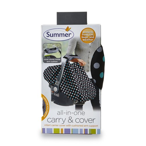 Summer Infant's All-in-One Carry & Cover - Polka Dots