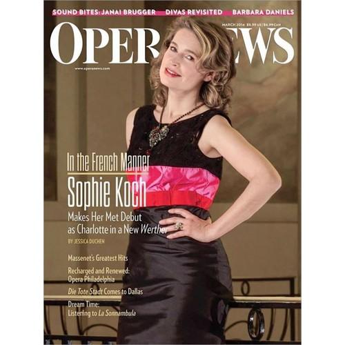 Opera News 1 Year Magazine Subscription