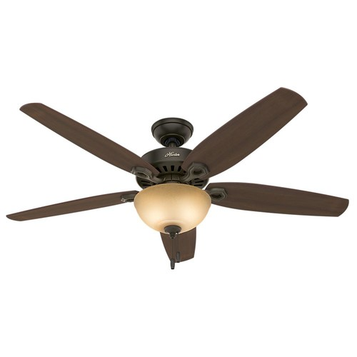 Hunter Builder Great Room 56 in. Indoor New Bronze Bowl Ceiling Fan with Light Kit