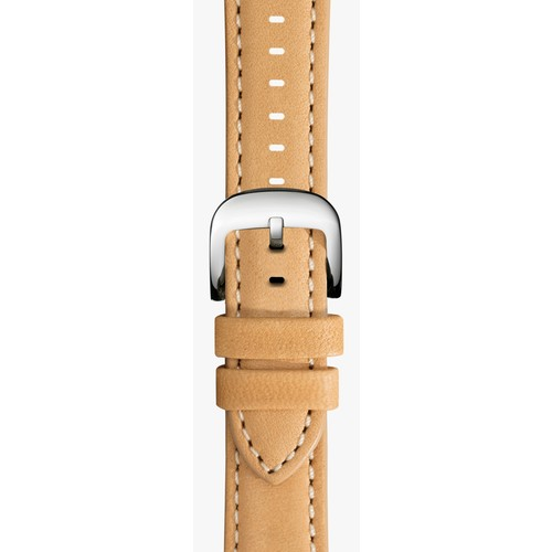 20mm Natural Leather Strap