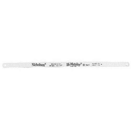 Nicholson NF1224 Hacksaw Blade 12 Inch 24 TPI Bi-Metaloy, PN 62749, Pack of 10