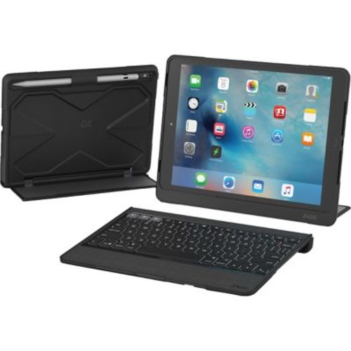 Zagg ID8RPK-BB0 Rugged Book Pro Polycarbonate/TPU Keyboard with Case for 9.7