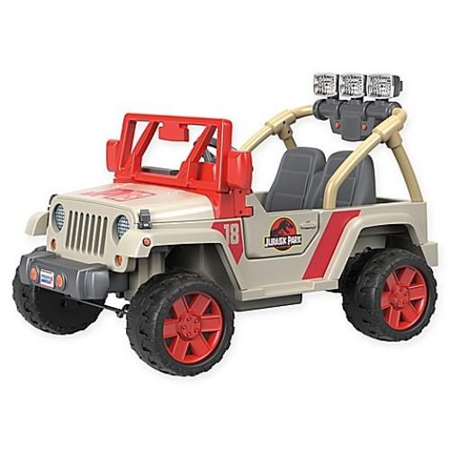 Fisher-Price Power Wheels Jurassic Park Jeep Wrangler Ride-On