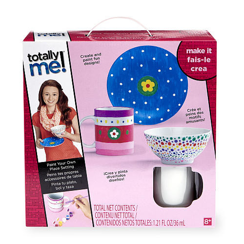 Totally Me! Paint Your Own Place Setting Kit