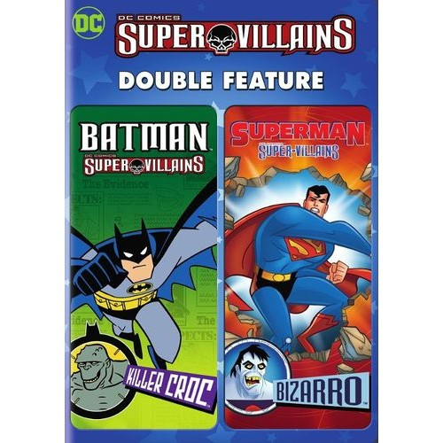 DC Super Villains Double Feature: Batman: Killer Croc/Superman: Bizarro [DVD]