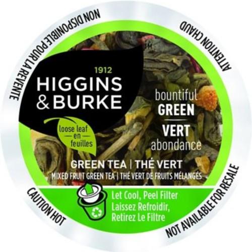 Higgins & Burke Loose Leaf Tea Bountiful Green, RealCup portion pack for Keurig K-Cup Brewers, 96 Count (3028814)