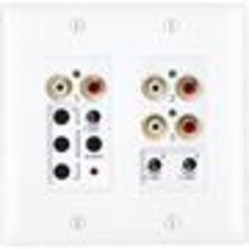 OnQ lyriQ Flush Mount Triple Source Input In-wall audio input module for lyriQ multi-room audio systems