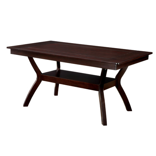 Furniture of America Dark Cherry Darcie Wood Dining Table