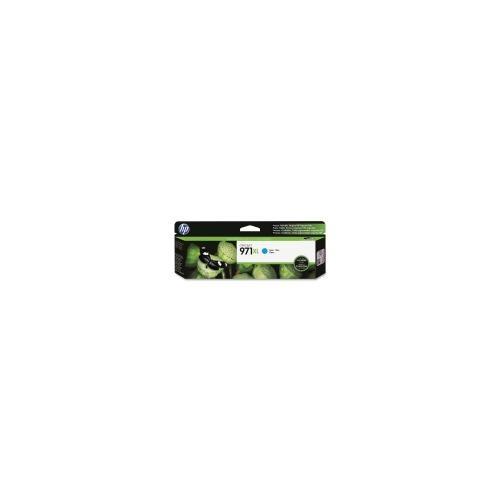 HP 971XL High Yield Cyan Original Ink Cartridge (CN626AM)