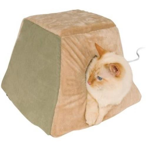 Thermo-Kitty Heated Cat Bed - Mocha K&H