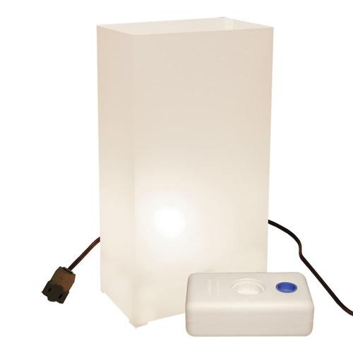 LumaBase 10-pk. Electric Luminarias with Lumabases