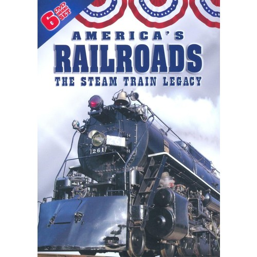 America's Railroads: The Steam Train Legacy [6 Discs] [DVD]