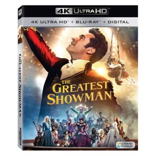 The Greatest Showman (4K/UHD + Blu-ray + Digital)