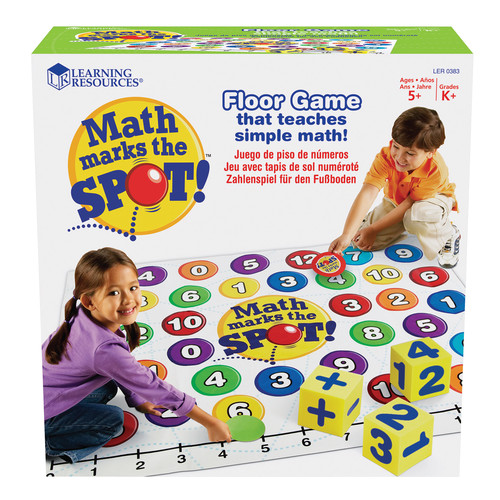 Learning Resources Math Marks The Spot A Math Activity Mat
